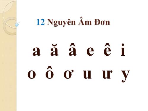 Vị trí của dấu trong một chữ